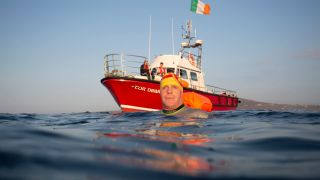 Donegal Man Reaches Co Down On Quest To Become The First To Swim Around Ireland