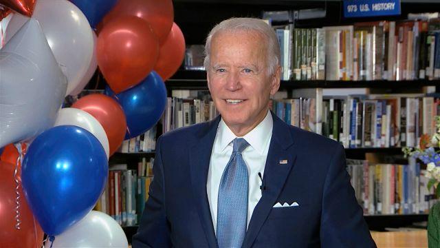 Joe Biden Nominated As Democratic Challenger To Donald Trump