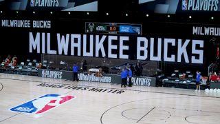 Nba's Milwaukee Bucks Boycott Game Over Jacob Blake Shooting