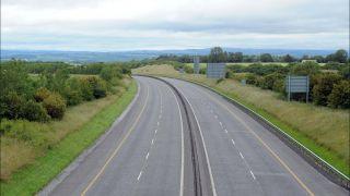 Two Seriously Injured After Three-Vehicle Crash On M9 Motorway