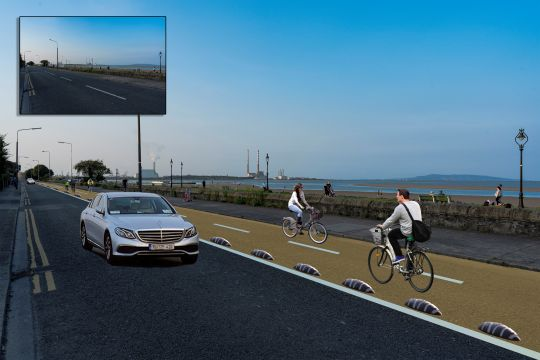 Legal Challenge To Dublin's Sandymount Strand Road Cycleway
