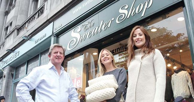 The sweater shop plans ambitious expansion businesspost ie