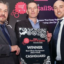 CashGuard takes honours at Supplier Awards