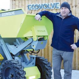 Skipping ahead: Laois man off to Vegas expo with world's first high-tip electric dumper
