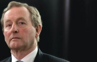 No sign of rage against Enda Kenny's dying of the light