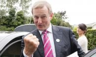 No Trump bounce for Kenny as Fine Gael support stagnates