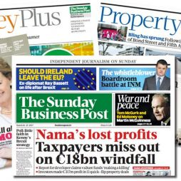 Advertising sales executive role at the Sunday Business Post