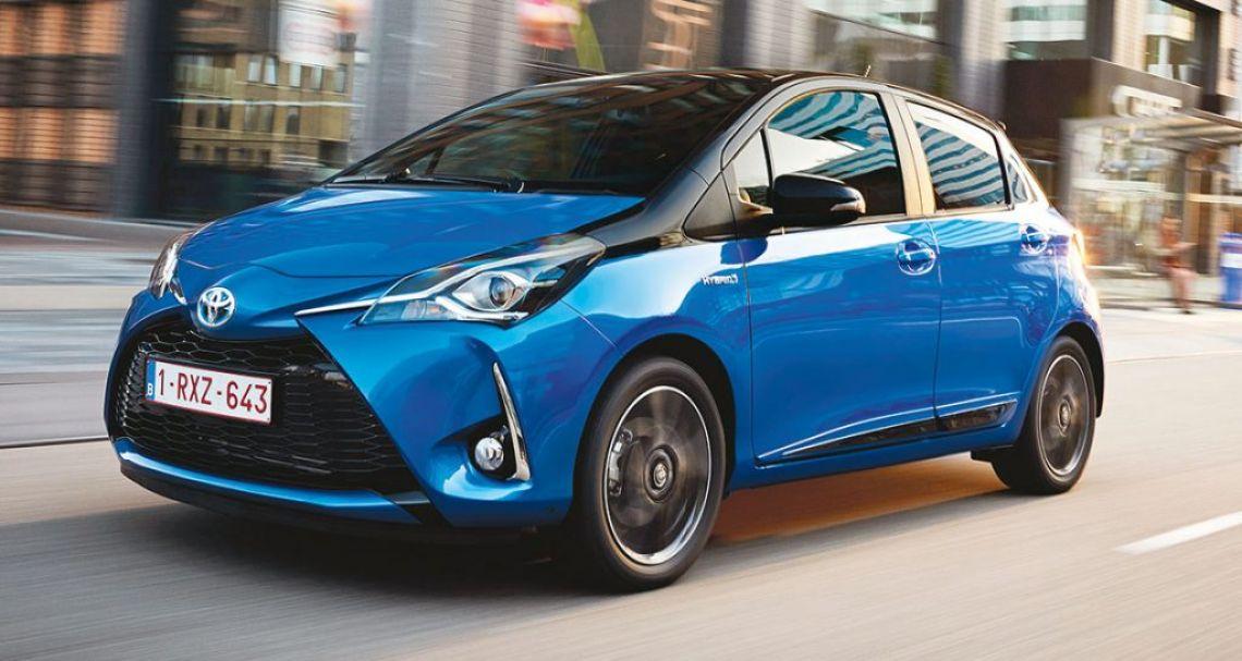 Toyota представила обновленный хэтчбек Yaris ...