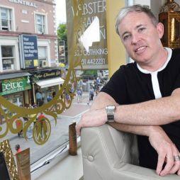 Grafton Street's a wonderland for Wayne Webster Hair