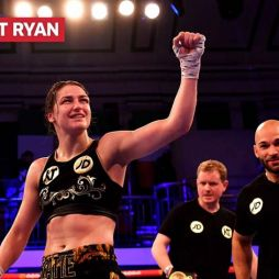 The script remains the same for Katie Taylor