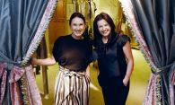Stylish duo's passion for fashion worth the price