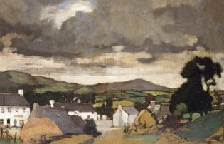 Stormy Orpen skies and rural dreamscapes