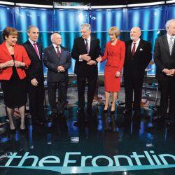 Behind the frontline presidential debate