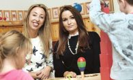 Partnership child's play for creche