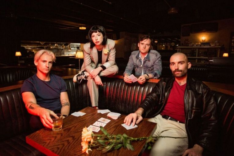 Soda Blonde have a new record out called Small Talk