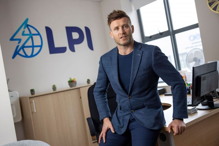 Paudi Reidy, chief execuive of LPI Group. Picture: Fergal Phillips