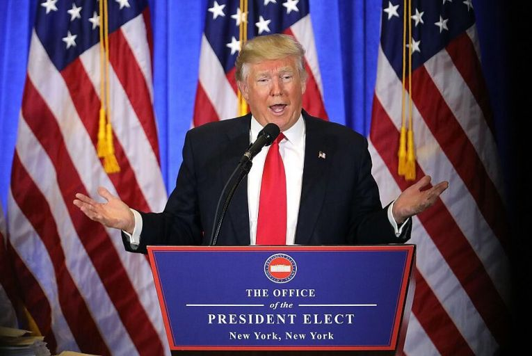 Siobhán Brett: Trump theatre as Obama bows out