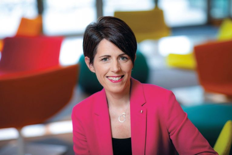 Ciara O'Reilly, head of business propositions, products and operations at Three: 'We need really high-quality broadband, not just in the urban centres and suburbs. We need it everywhere.' Picture: Naoise Culhane