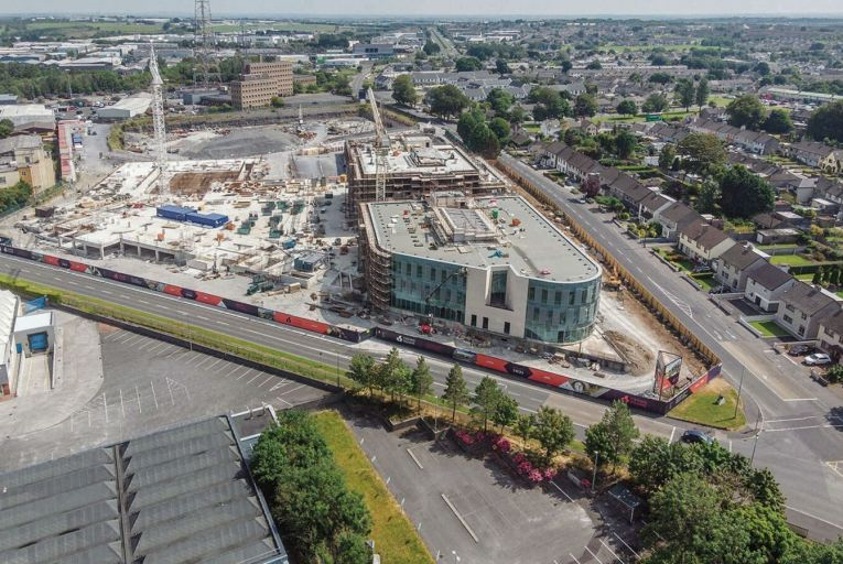 Crown Square on Monivea Road, which will be the largest mixed-use development in Galway city