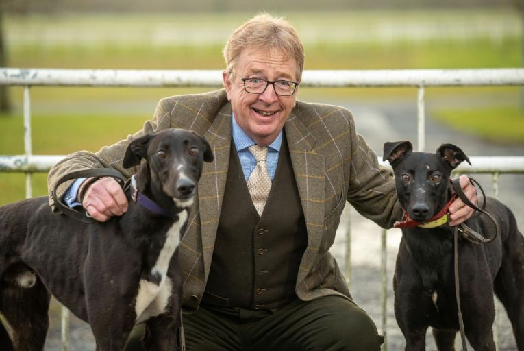 Frank Nyhan of Greyhound Racing Ireland: 'That (RTÉ) programme was like turning off the tap and turning on a different tap.' Picture: John Allen