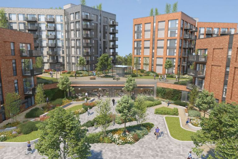 8th Lock, Royal Canal Park, D15 (developed by Ballymore, forward funded in a €200m deal in first half of 2021). Picture: Ballymore
