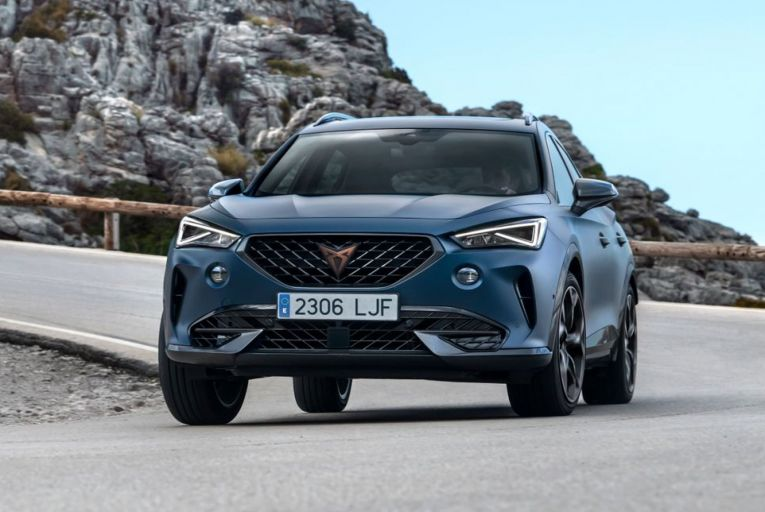 The Cupra Formentor is a performance coupé-SUV from the spin-off brand of Seat
