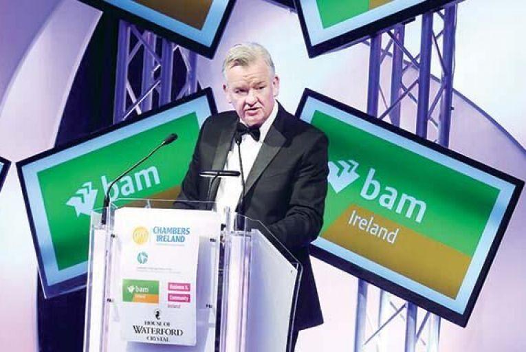 Theo Cullinane, chief executive, BAM Ireland