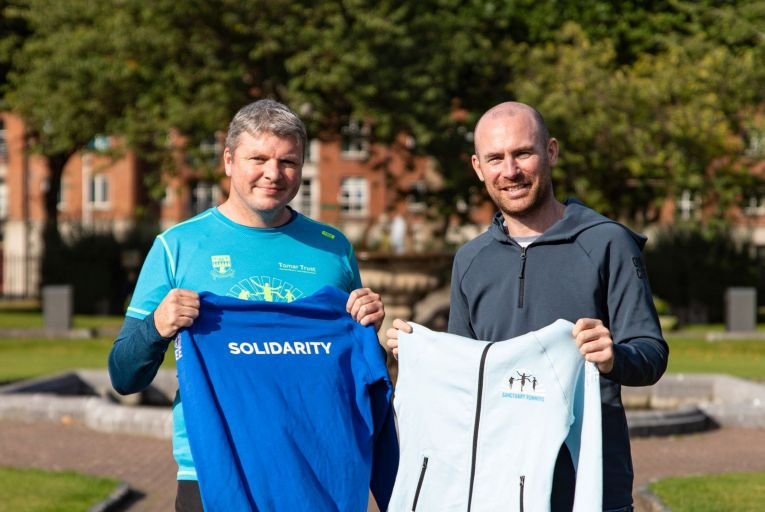 Sanctuary Runners teams with Gym + Coffee to launch first range of merchandise