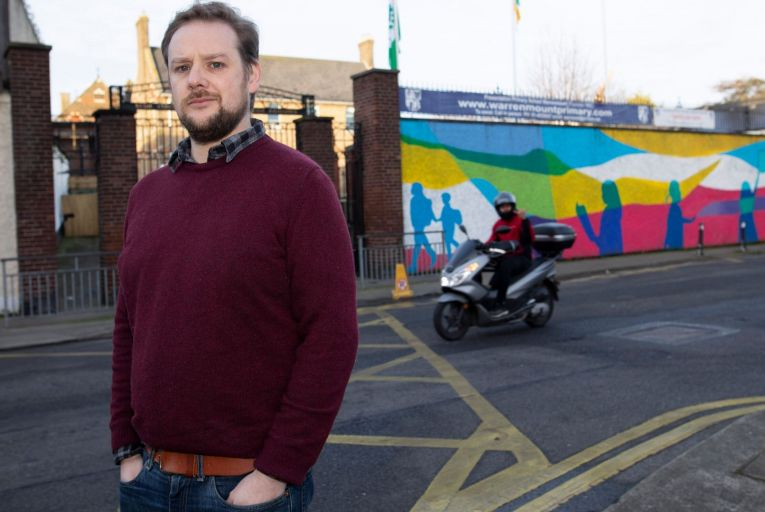Patrick Costello, a Green TD for Dublin South Central, has offered to explain his actions to colleagues at a meeting this week Picture: Fergal Phillips