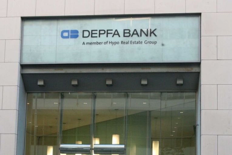 Depfa is a German bank that moved its entire business to Ireland almost 20 years ago