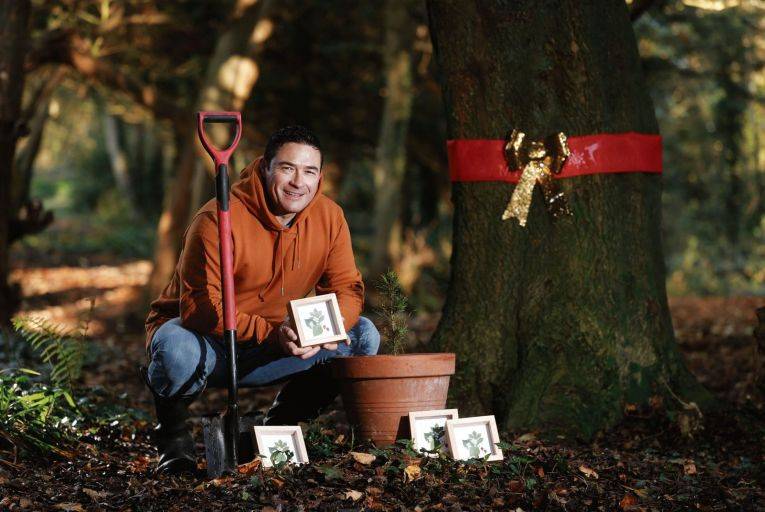 Neil McCabe of Grown Forest, which aims to plant 50,000 trees across Ireland by the end of next year to widen Ireland's biodiversity and revive our wild forests. Picture: Conor McCabe