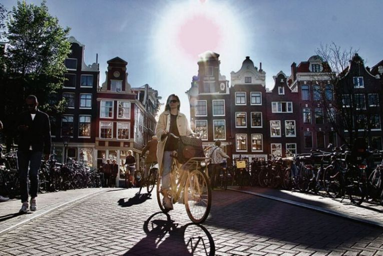 Amsterdam was in thrall to the car in the 1960s, but now the Dutch city is the cycling capital of the world. Picture: Getty