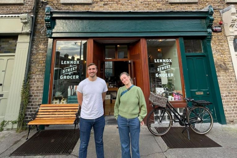 Siblings Christopher and Claire Arnold have just opened Lennox Street Grocer in the heart of Portobello in Dublin