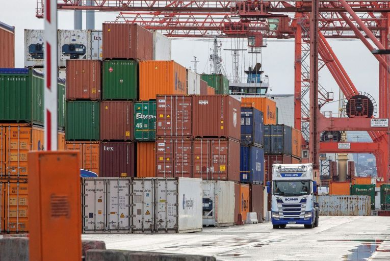 The rising cost of shipping a container of goods is having a knock-on effect on prices for businesses and consumers. Picture: Getty Images