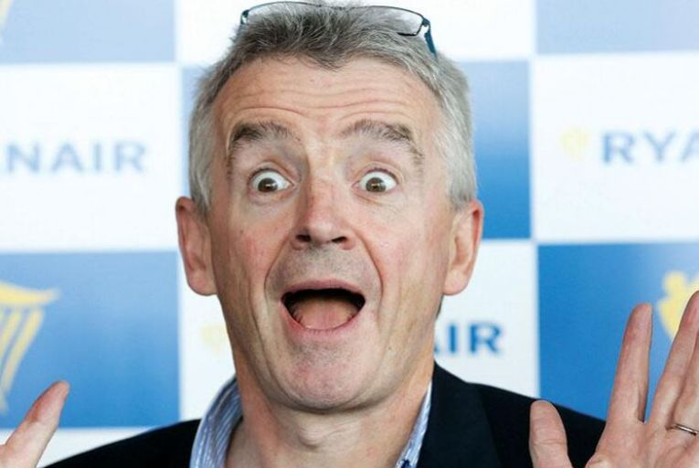 O'Leary spent €16 million on Ryanair shares in recent sale