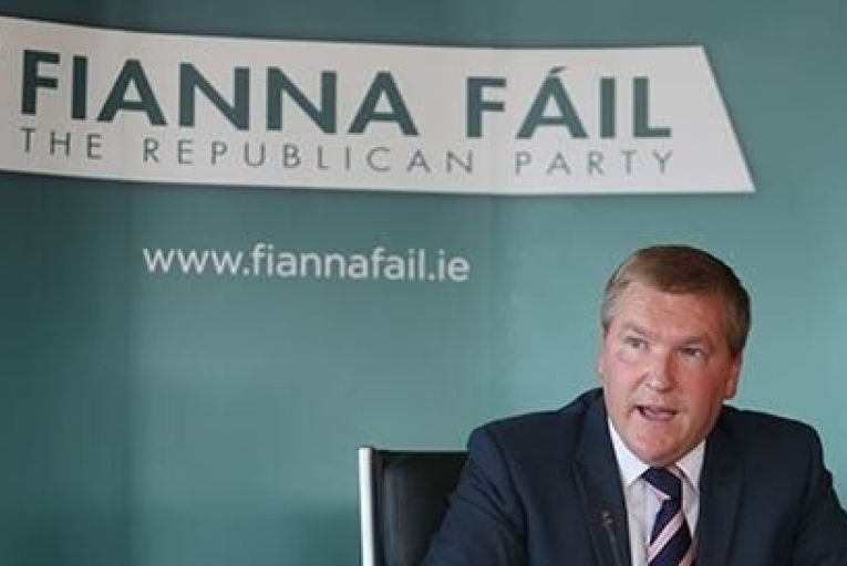 Michael McGrath and his Fianna Fail party picked up a lot of floating votes Pic:RollingNews.ie