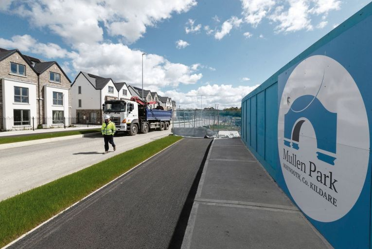 The planned sale of 115 homes in the Mullen Park estate to Round Hill Capital, a global investment firm, caused a political furore when it was reported by the Business Post last May. Picture: Colin Keegan/Collins Dublin