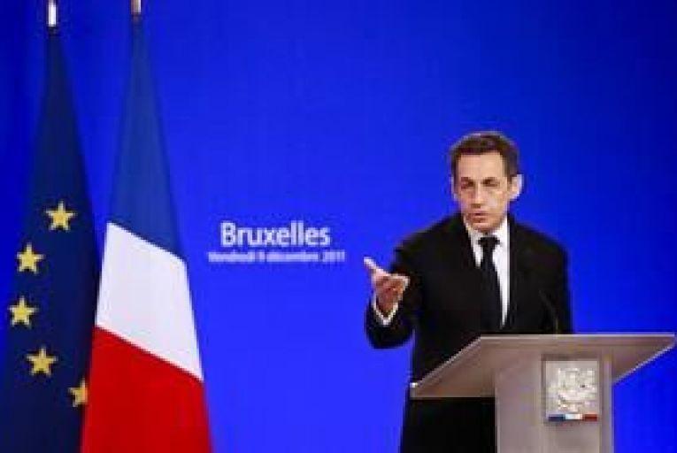 Sarkozy pledges to freeze French EU contributions