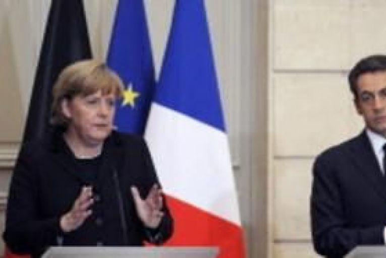 France, Germany urge treaty change by March