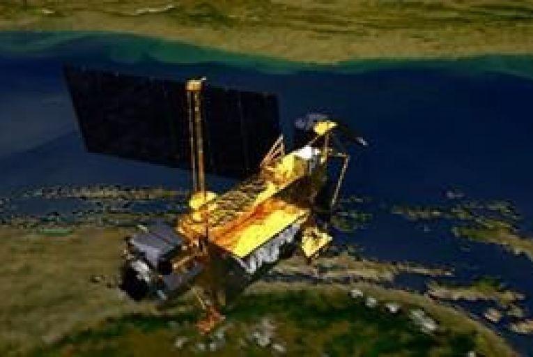 NASA satellite falls into Pacific