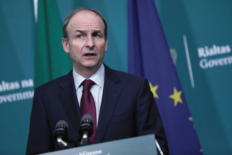 Micheál Martin, the Taoiseach damned in recent times for revealing too much about the length of Covid-19 restrictions. Now he is being damned for not revealing enough ahead of this week's cabinet decision on the lifting, or not, of restrictions on Monday, April 5.   Credit: Rollingnews