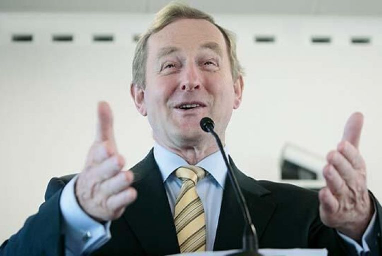 Taoiseach Enda Kenny: Fine Gael will need to  win back the trust of voters Pic: Collins