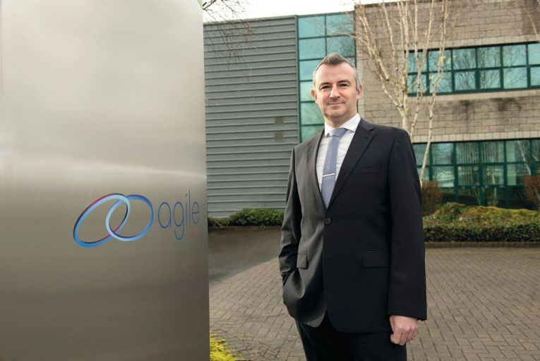Sean Nolan, business development manager with Agile Networks