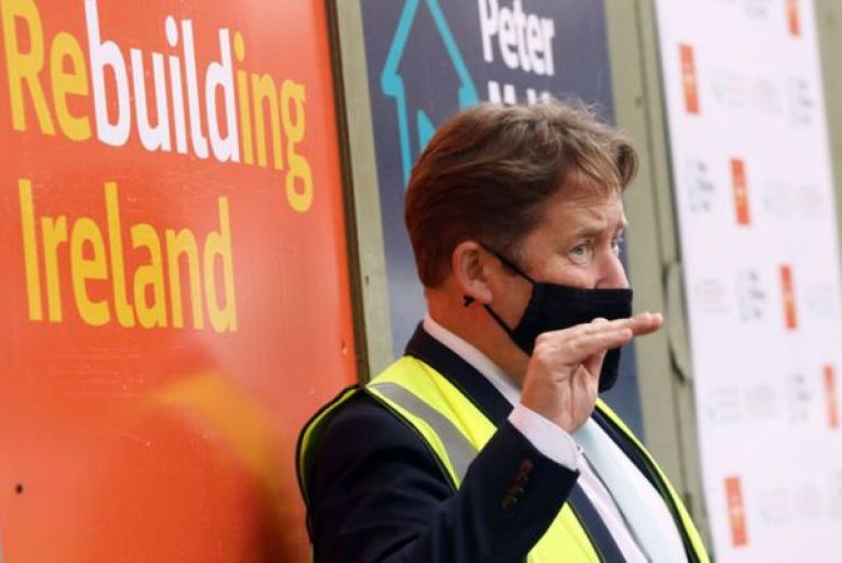 Darragh O'Brien, the Minister for Housing, is limited in his powers to ban co-living complexes. Picture: Leah Farrell/RollingNews.ie