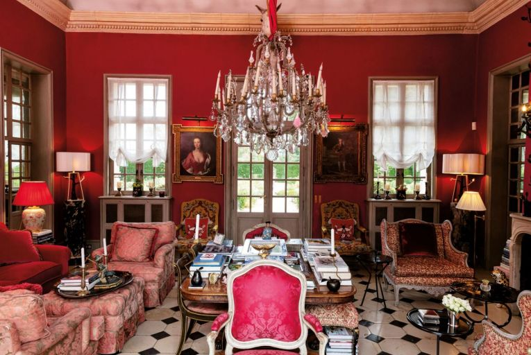 The contents of the Saint-Calais Manor, a former 17th-century hunting lodge in Normandy are on sale at Sotheby's