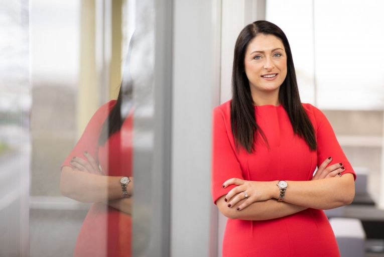 Ruth Leggett, chief executive of the Irish operations of Sedgwick: 'Every encounter you have with someone has the potential to lead to an opportunity.'