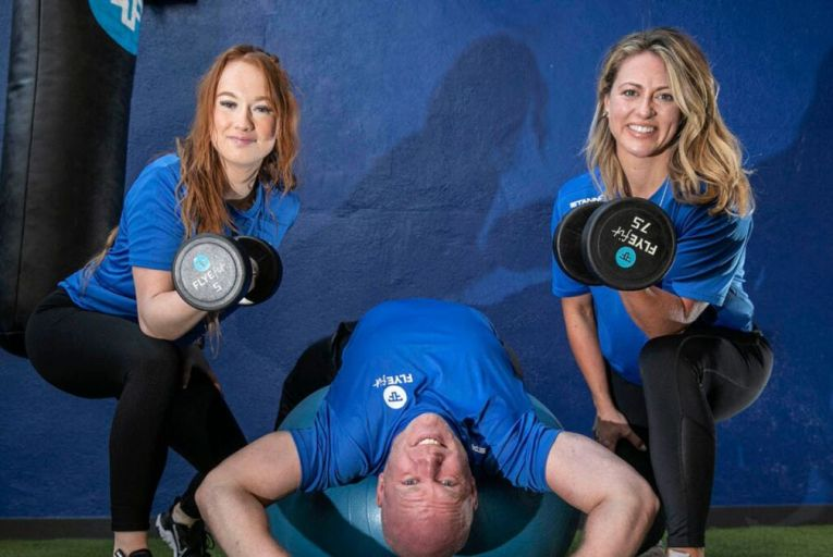 Flyefit cites hybrid working as changing people's attitude to fitness. Picture: Flyefit