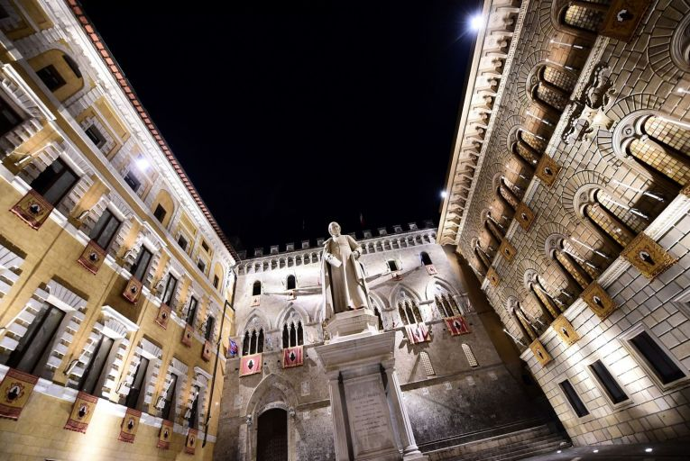 The headquarters of Monte dei Paschi di Siena bank, which for most of its 549 years  was the most important institution in the Italia city. Picture: AFP/Getty