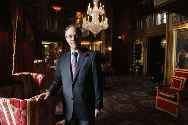 Niall Rochford, general manager at Ashford Castle Hotel in Cong, Co Mayo. Picture: Michael McLaughlin