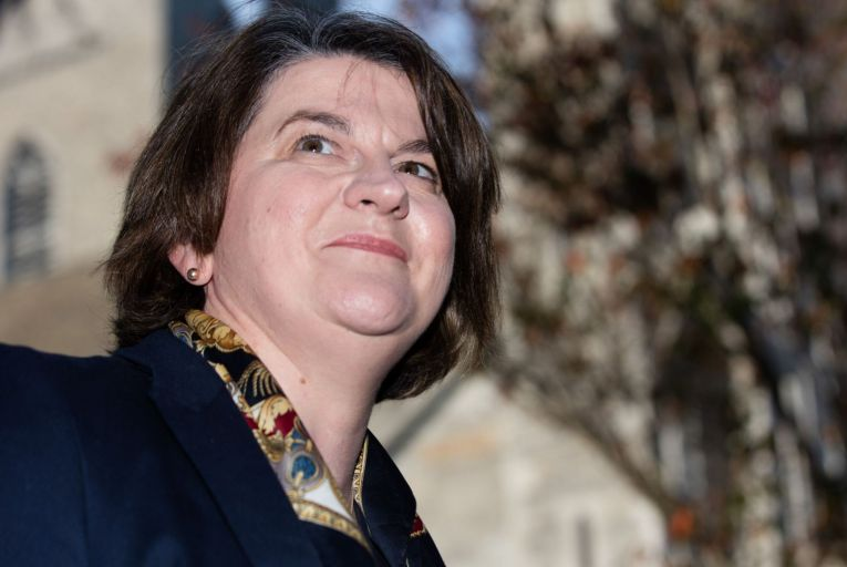 'Arlene Foster's time at the helm of the DUP was not an easy one but her position was artificially stable for a long time due to the vacuums created by Brexit, the collapse of the Executive and lately the pandemic.' Picture: Rollingnews.ie